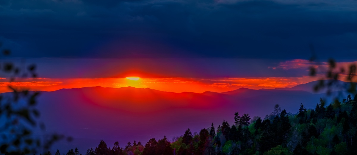 Santa Fe Ski Basin Sunset