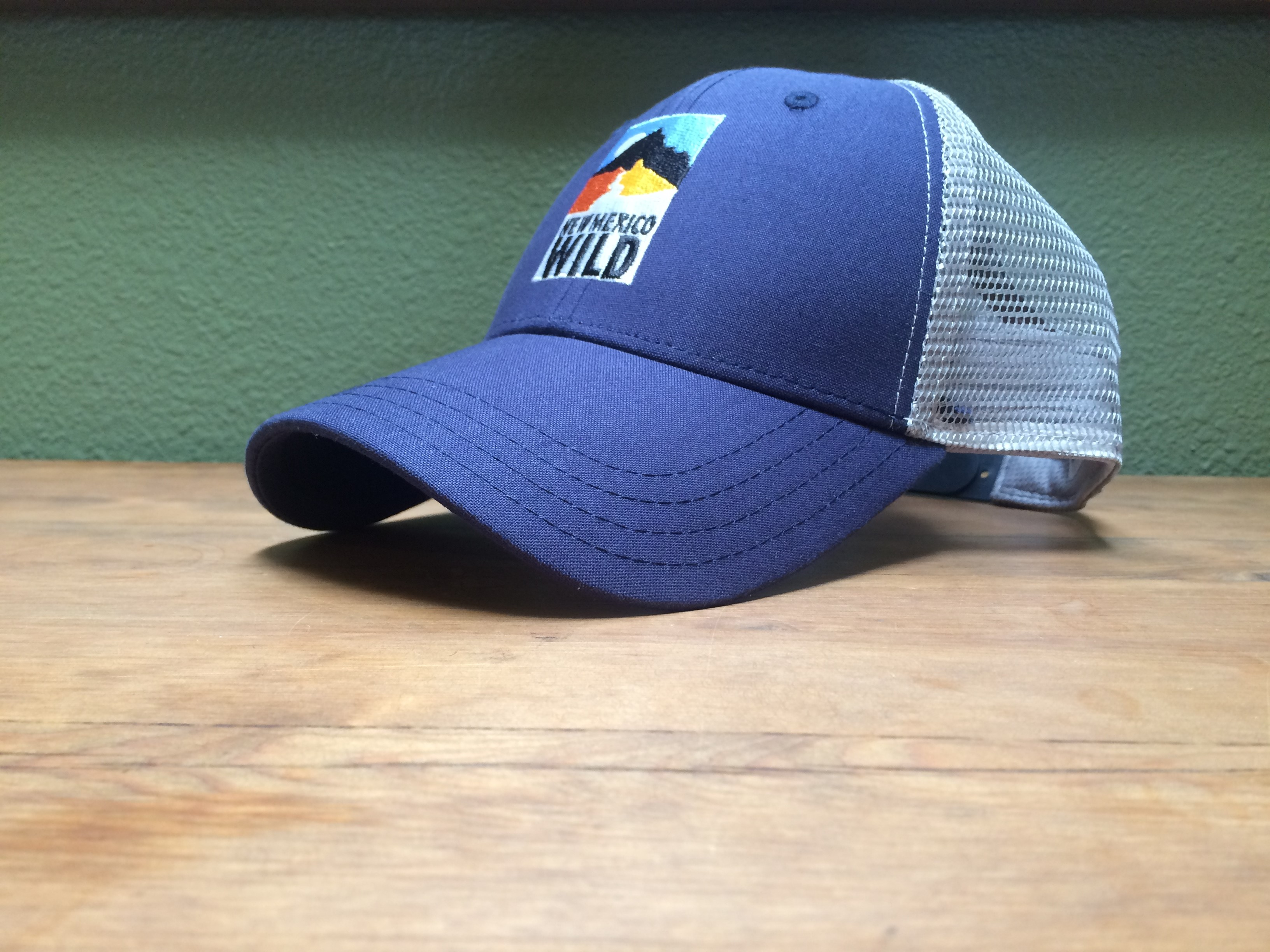 Navy and Grey Hat